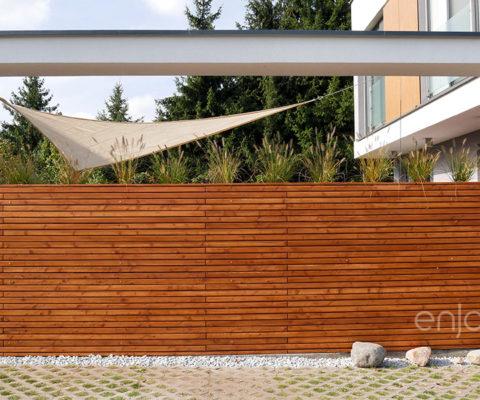 Ścianka drewniana