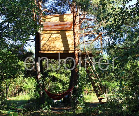 domek na drzewie producent EnJoiner