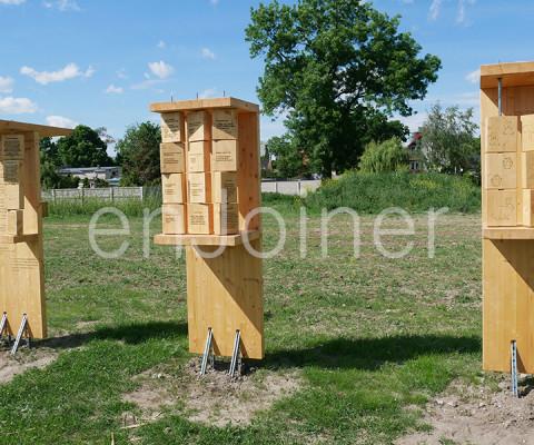 Drewniany park edukacyjny enJoiner