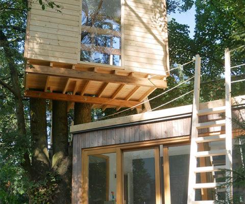 Domek na drzewie - Producent EnJoiner Warszawa