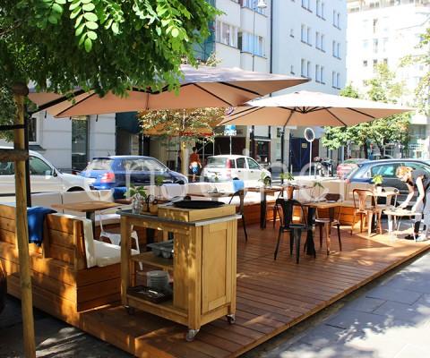 ogródek restauracyjny enJoiner