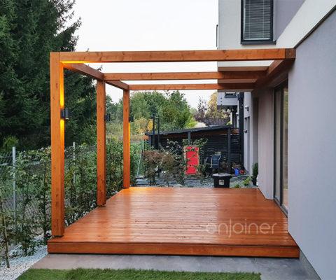 Taras drewniany modułowy